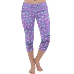 Little Face Capri Yoga Leggings