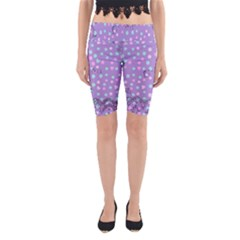 Little Face Yoga Cropped Leggings