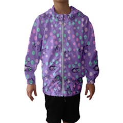 Little Face Hooded Wind Breaker (Kids)
