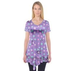 Little Face Short Sleeve Tunic