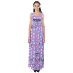 Little Face Empire Waist Maxi Dress