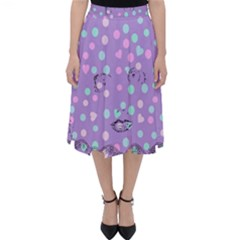 Little Face Folding Skater Skirt