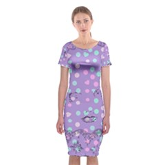 Little Face Classic Short Sleeve Midi Dress