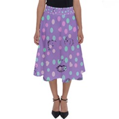 Little Face Perfect Length Midi Skirt