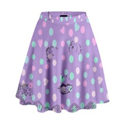 Little Face High Waist Skirt