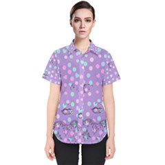 Little Face Women s Short Sleeve Shirt