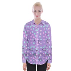 Little Face Womens Long Sleeve Shirt