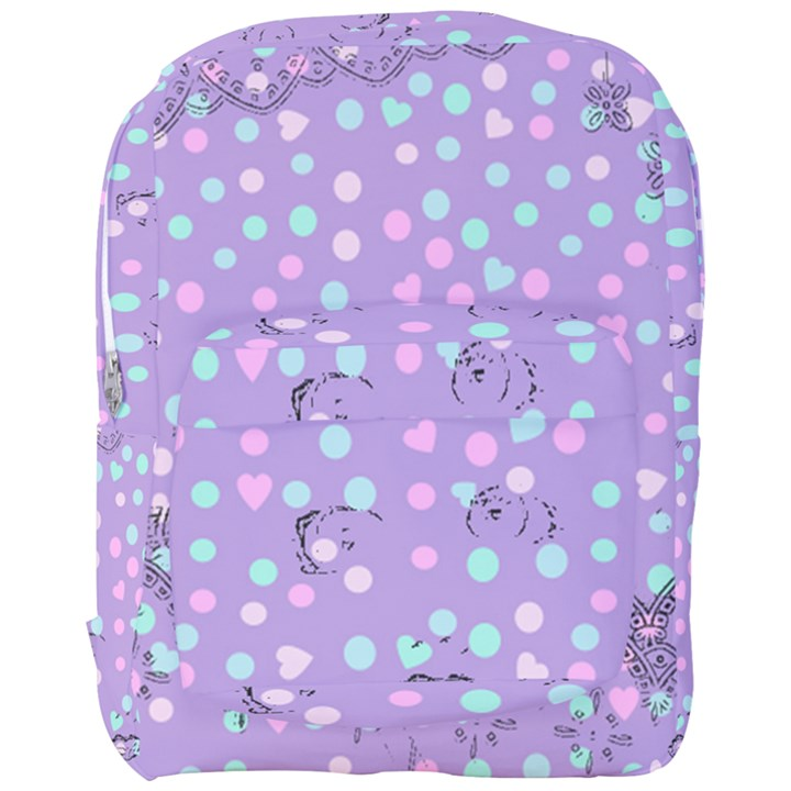 Little Face Full Print Backpack
