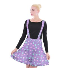 Little Face Suspender Skater Skirt