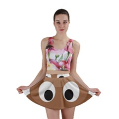 Poo Happens Mini Skirt