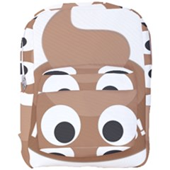 Poo Happens Full Print Backpack