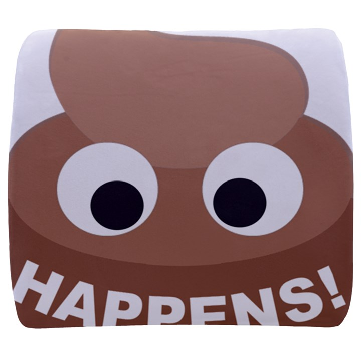 Poo Happens Back Support Cushion