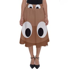 Poo Happens Perfect Length Midi Skirt