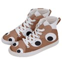Poo Happens Women s Hi-Top Skate Sneakers View2