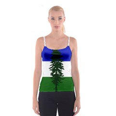 Flag Of Cascadia Spaghetti Strap Top