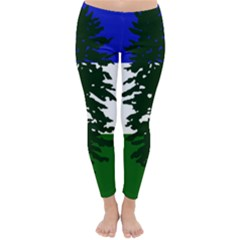 Flag Of Cascadia Classic Winter Leggings