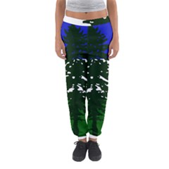 Flag Of Cascadia Women s Jogger Sweatpants by abbeyz71
