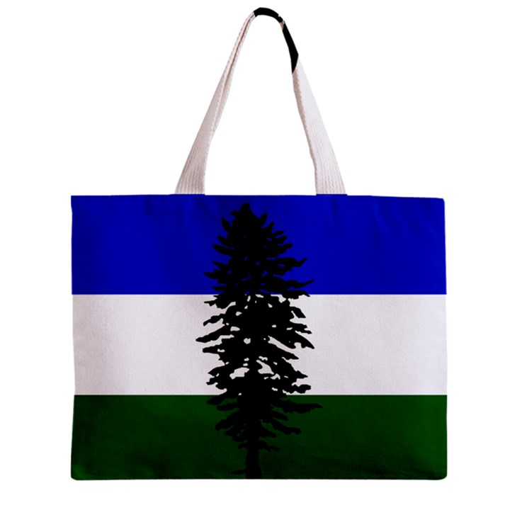 Flag of Cascadia Zipper Mini Tote Bag