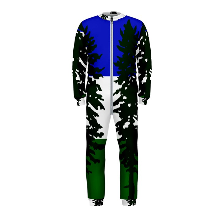 Flag of Cascadia OnePiece Jumpsuit (Kids)