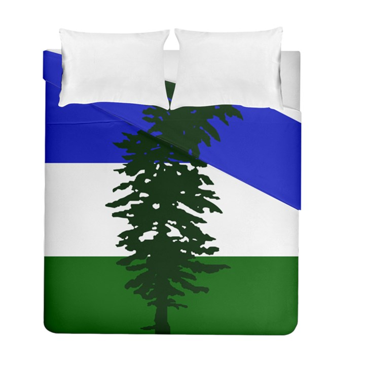 Flag of Cascadia Duvet Cover Double Side (Full/ Double Size)