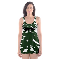Flag Of Cascadia Skater Dress Swimsuit