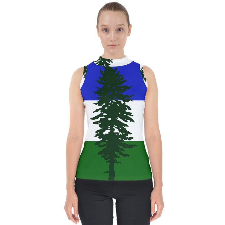 Flag of Cascadia Shell Top