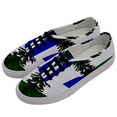 Flag Of Cascadia Men s Classic Low Top Sneakers by abbeyz71