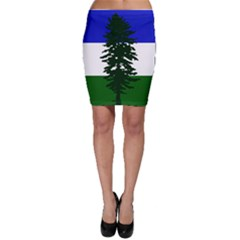 Flag Of Cascadia Bodycon Skirt by abbeyz71