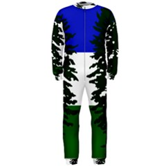 Flag Of Cascadia Onepiece Jumpsuit (men)  by abbeyz71