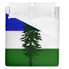 Flag Of Cascadia Duvet Cover (queen Size) by abbeyz71