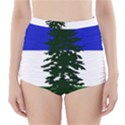 Flag of Cascadia High-Waisted Bikini Bottoms View1
