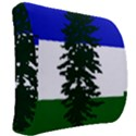 Flag of Cascadia Back Support Cushion View2