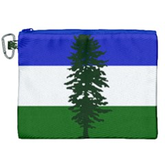 Flag Of Cascadia Canvas Cosmetic Bag (xxl) by abbeyz71
