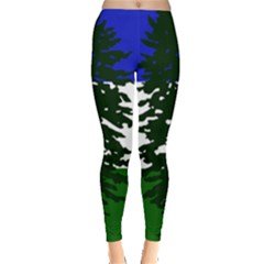 Flag Of Cascadia Leggings  by abbeyz71
