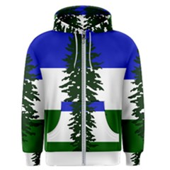 Flag Of Cascadia Men s Zipper Hoodie