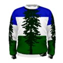 Flag of Cascadia Men s Sweatshirt View1
