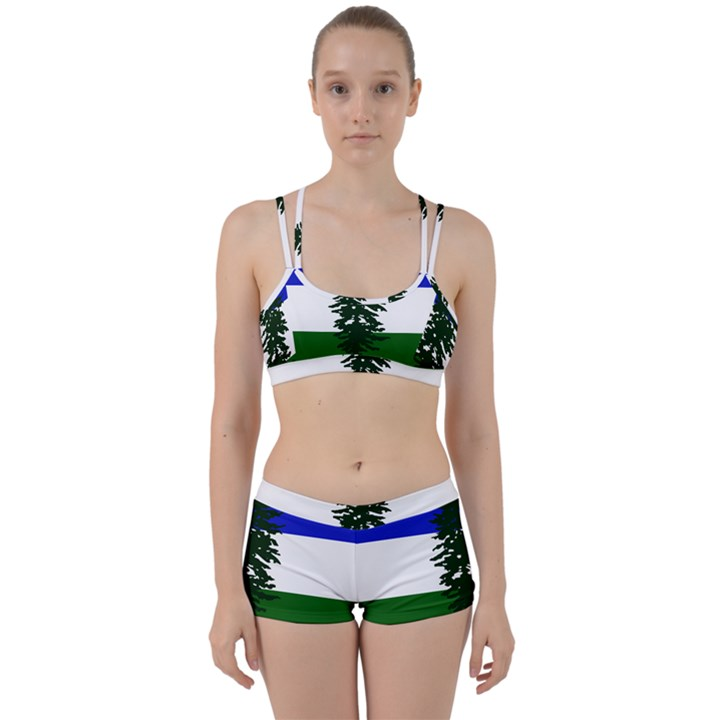 Flag of Cascadia Women s Sports Set