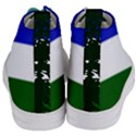 Flag of Cascadia Women s Mid-Top Canvas Sneakers View4