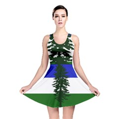 Flag Of Cascadia Reversible Skater Dress
