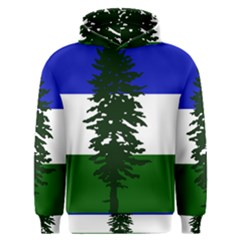 Flag Of Cascadia Men s Overhead Hoodie