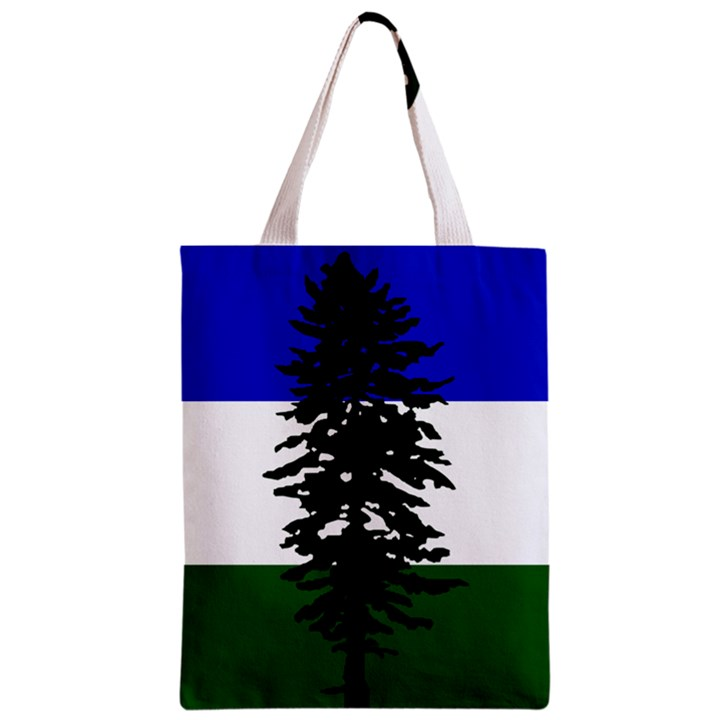 Flag of Cascadia Zipper Classic Tote Bag