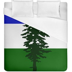 Flag Of Cascadia Duvet Cover (king Size)