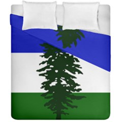 Flag Of Cascadia Duvet Cover Double Side (california King Size) by abbeyz71