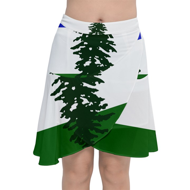 Flag of Cascadia Chiffon Wrap