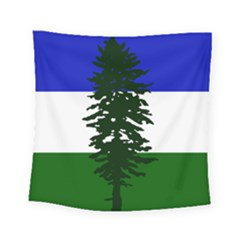 Flag Of Cascadia Square Tapestry (small) by abbeyz71