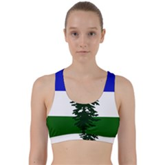 Flag Of Cascadia Back Weave Sports Bra by abbeyz71