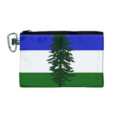 Flag Of Cascadia Canvas Cosmetic Bag (medium)