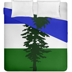 Flag Of Cascadia Duvet Cover Double Side (king Size) by abbeyz71