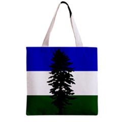 Flag Of Cascadia Grocery Tote Bag by abbeyz71