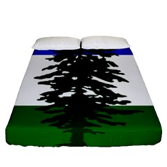 Flag Of Cascadia Fitted Sheet (queen Size) by abbeyz71